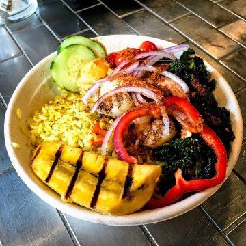 Chicken Suya Bowl